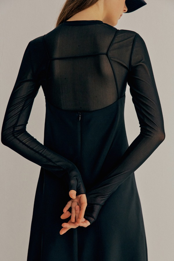 [3/5순차출고]SEE-THROUGH MESH TOP_BLACK