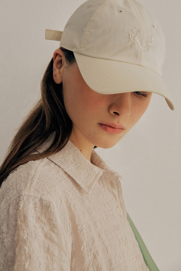 M BALL CAP_WHITE