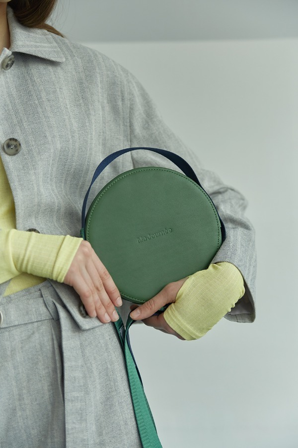 COLOR PLAY TAMBOURINE BAG_GREEN