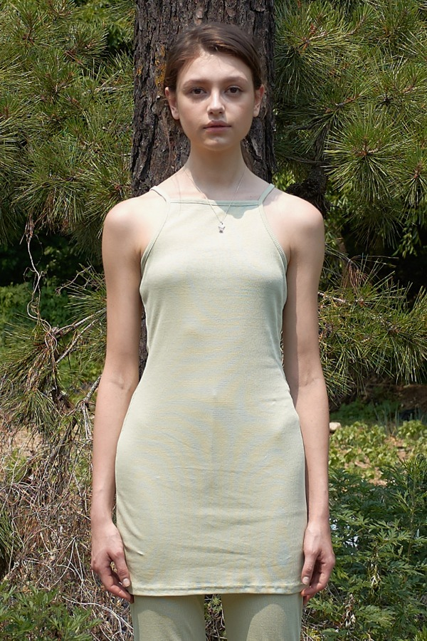 GOLGI SLEEVELESS ONE-PEICE_MINT