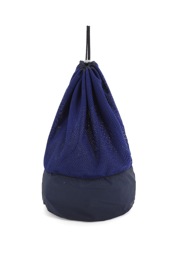 MESH 2WAY BEACH BAG_NAVY/BLUE