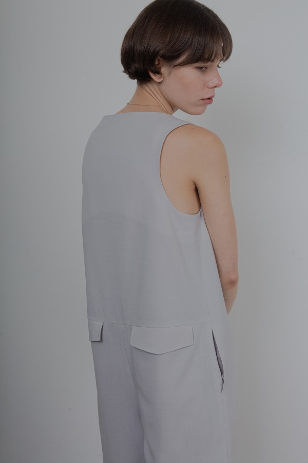 MINIMAL JUMPSUIT_LIGHT GREY