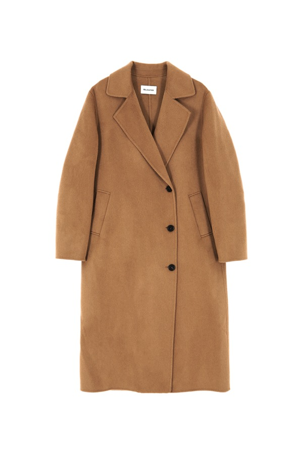 CASHMERE DOUBLE HANDMADE COAT_CAMEL